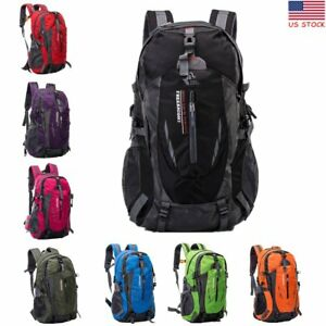 40L Waterproof Outdoor Sport Hiking Camping Travel Backpack Daypack Rucksack Bag