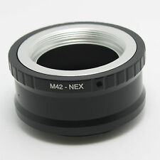 M42 Lens to Sony E-mount Adapter Ring NEX-3N 5N 5R 6R 7 VG30 VG20 A5000 A7R etc.