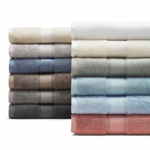 "Hudson Park Collection 100/% Cotton Bath Sheet Towel 33/""x 71/"" Hazelnut Brown $60"