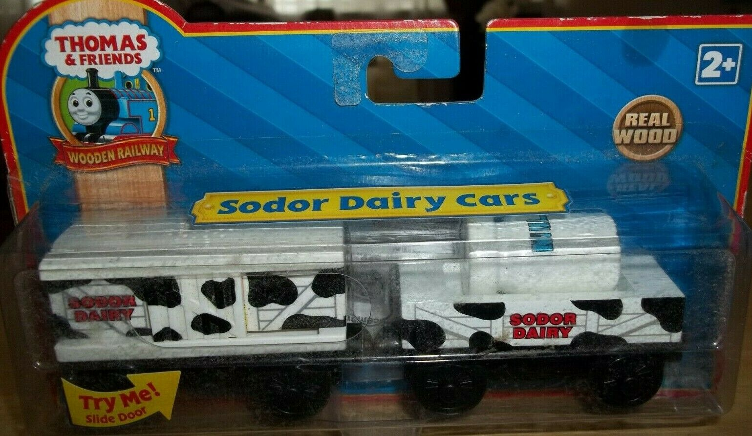 THOMAS & FRIENDS LEARNING CURVE SODER DAIRY CARS  LC99037