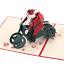 3D-Pop-Up-Card-Christmas-Holiday-Greeting-Handmade-Baby-Gift-Happy-New-Hot-Cards thumbnail 2