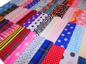 100/% Coton Tissu Matériau Craft Quilt FQ mètre meilleure qualité!!!