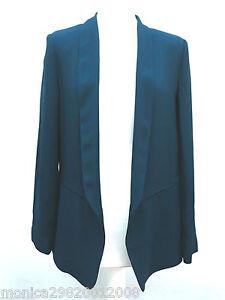 Zara Bleu Veste Blazer Taille M L Ref 7587 817   eBay 54099defb10e