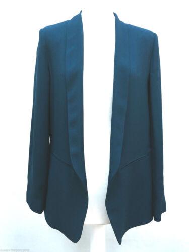 Zara L Ref Taille Blazer 7587 Veste M Bleu 817 aUwqWnaBp