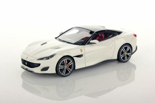 LS480F Looksmart Ferrari Portofino Bianco Avus 1:43