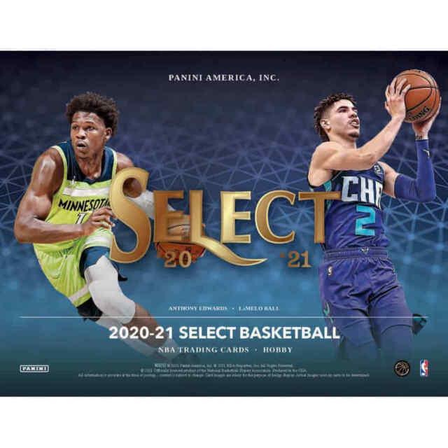 2020-21 Panini Select Basketball Hobby FACTORY SEALED HOBBY BOX