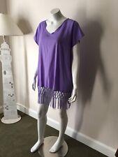 a7c8ef48ac item 1 Taydey Women's Stylish Chiffon Tassel Beachwear Bikini Swimsuit  Cover up Purple -Taydey Women's Stylish Chiffon Tassel Beachwear Bikini  Swimsuit ...