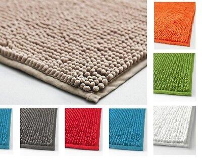 IKEA TOFTBO Ultra soft Absorbent Quick Dry Microfiber Anti-Slip Bath Mat Rug