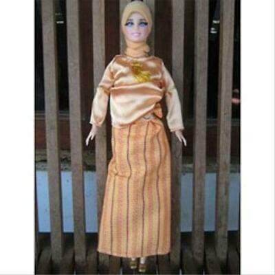 Muslim Doll Clothes With Hijab Prayer Beads Girls Eid Gift