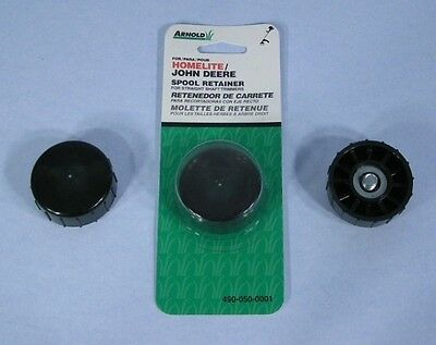 Replacement String Trimmer Head Plastic Spool Retainer Bump Knob Right//Left Hand