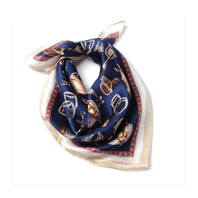 Women's 100% Pure SilkYellow Kerchiefs Scarfs Small Square Scarves 21