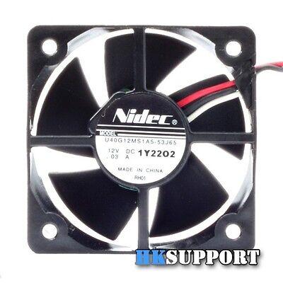 Nidec 4CM 12V 4,000 RPM Ultra Quiet Silent Cooling Fan For 3D Printer Extruder