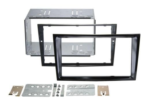 CT23VX36 Corsa 2006 on Double Din Stereo Facia Kit Piano Black