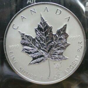 2004-Zodiac-Scorpio-Privy-Mark-5-Fine-Silver-Maple-Leaf-1oz-Coin-OOAK