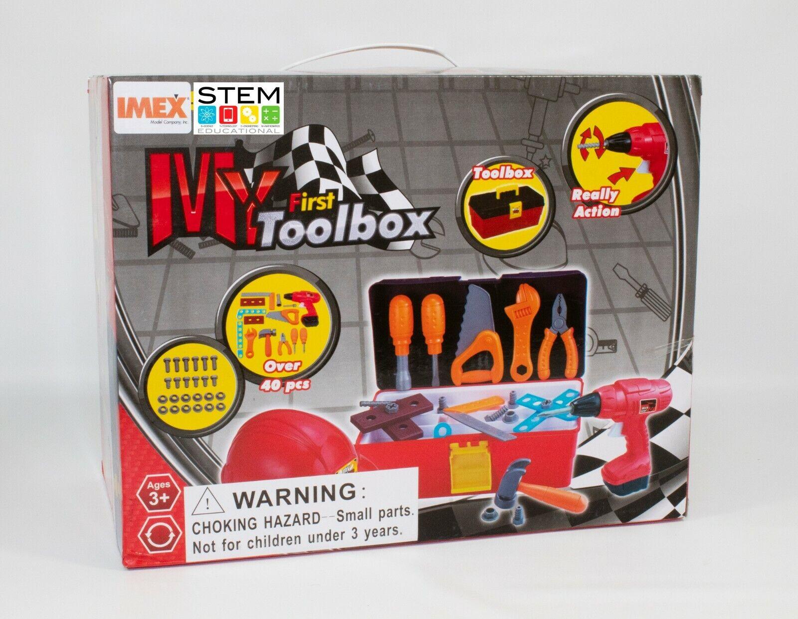 STEM First Toolbox with Hard Hat 40 pcs pcs pcs (IMX14707) d4d60e