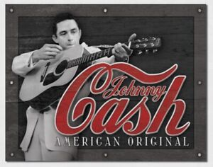 Johnny Cash Metal Tin Sign Country Music Legend Home Wall Decor Nashville New