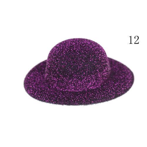 BOMBIN sombrero de escala 1:12 casa de muñecas en miniatura de accesorios de vestir FG