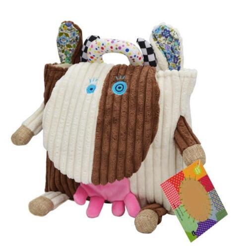 Kindergarten Bag Kids Backpack Soft Animal Shaped Small Bag for Girl Boy Plush