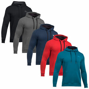 122b0fd7a 2018 Under Armour Mens Rival Fitted Pullover Hoodie UA Hoody Sweater ...