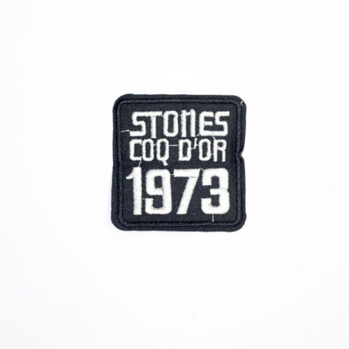 Iron On Embroidery Applique Patch Sew Iron Badge Stone 1973 Badge