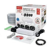 Foscam Fn3108xe 720p Security Surveillance System Nvr W/ 4 Poe Ip Camera 1tb Hdd