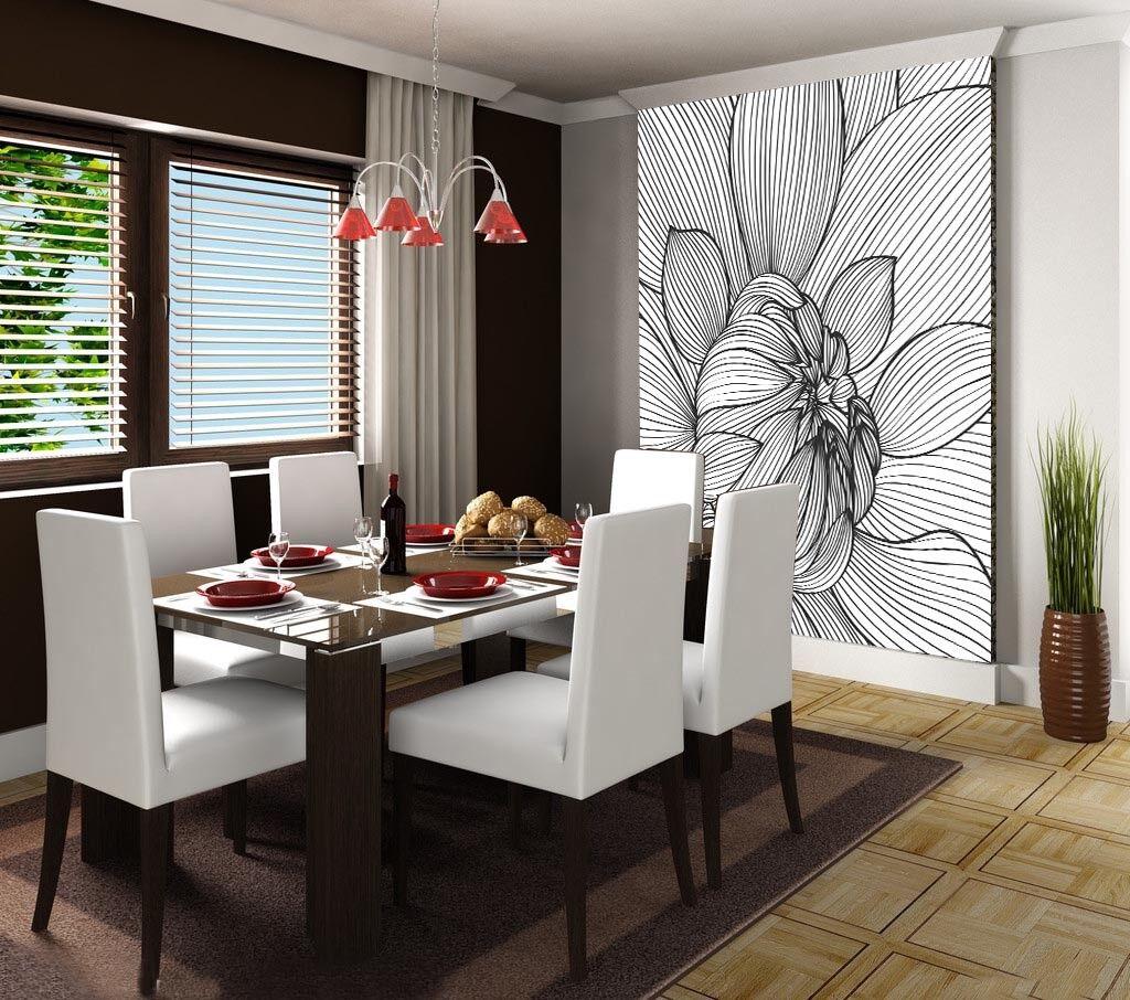 3D Striped Flowers 86 Wall Paper Murals Wall Print Wall Wallpaper Mural AU Lemon