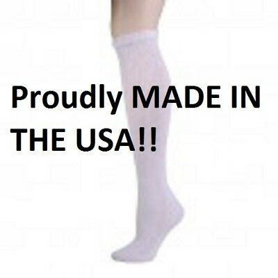 CASUAL DIABETIC SOCKS 9 PAIR SIZE 13-15 ASSORTED COLOR CREW STYLE  U.S.A