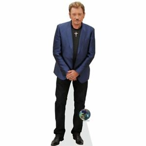 Celebrity Cutouts Johnny Hallyday grandeur Nature