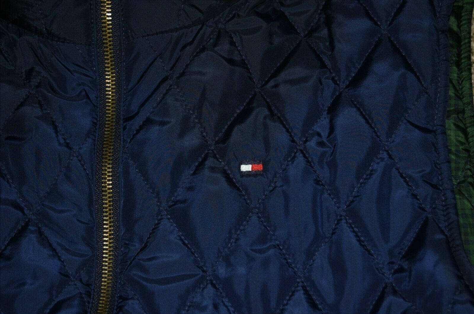 Vintage Tommy Hilfiger Quilted Reversible Women's… - image 9