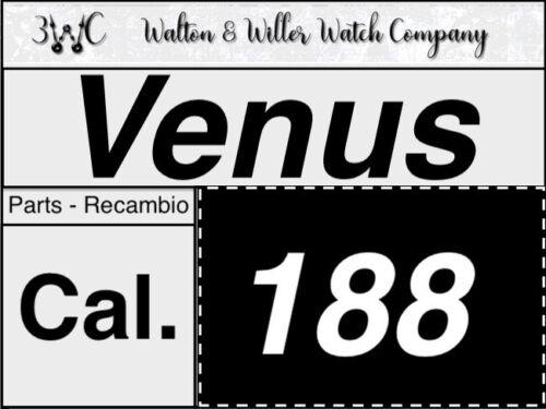 NOS 1 pc VENUS 188 Original parts vintage Chronograph New Chrono OEM 3WC