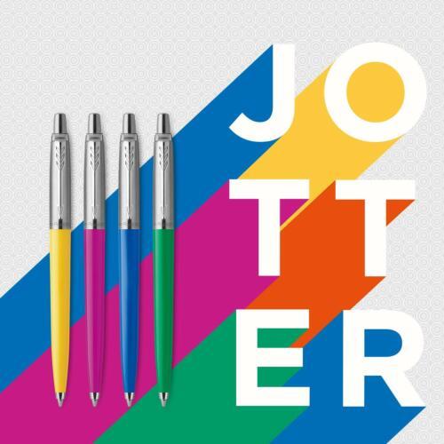 Blue Ink NEW 2076054 Parker Jotter Originals Ballpoint Pen Collection in Orange