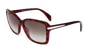 Prada-SPR14P-Women-039-s-Red-Havana-Sunglasses-0360