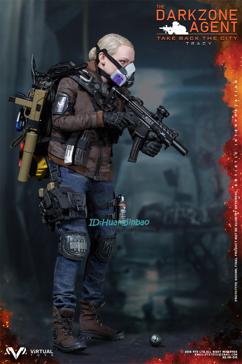 VTS TOYS 1 6 VM-019 Agent TRACY Action Figure Model Model Model In Box Two color Limit New b05f62