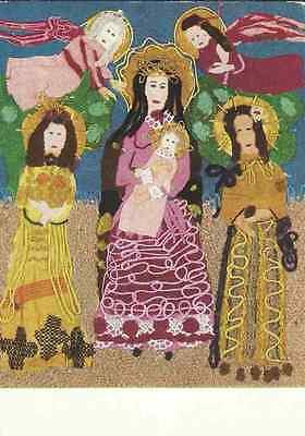 Ursula Dethleffs - Madonna mit Engeln und Heiligen