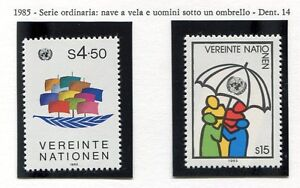 19338-UNITED-NATIONS-Vienna-1985-MNH-Definitive-Ship