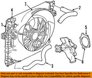 s l300 jeep chrysler oem 00 06 wrangler engine water pump 68382492aa ebay