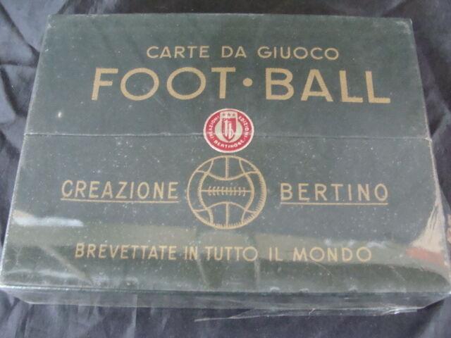 CARTE DA GIOCO BERTINO 1947 TORINO CALCIO ORIGINALI VINTAGE