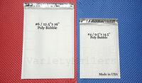 7 Poly Bubble Postal Mailing Envelope Combo (3) 6 12.5x19 (4) 4 9.5x14.5