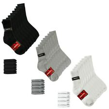 Knockers Men's 4 Pack Crew Sport Socks
