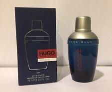 Dark Blue By Hugo Boss 2.5 Oz Eau de Toilette Spray New In Box Cologne For Men