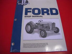 Ford Tractor I&T Shop Service Manual 600 601 700 701 800 801 900 901 FO20    eBayeBay