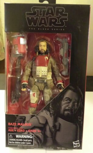 Star Wars Rogue One The Black Series Baze Malbus 6Inch Action Figure NEW RARE