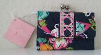 Vera Bradley Small Kisslock Wallet - Ribbons - With Tags