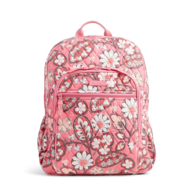 31772c6f249c Vera Bradley Campus Backpack in Blush Pink Pattern Ships for sale ...