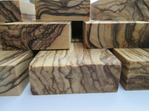 Bethlehem Olive wood ring blanks Pieces jewelry making 40mm X 40mm X 15mm