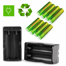 8PCS 18650 Battery 5000mah Li-ion Rechargeable For Led Torch +Smart Charger MT
