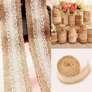 5M-Natural-Jute-Burlap-Hessian-Lace-Edge-Trims-Tape-Rustic-Wedding-Ribbon-Decor