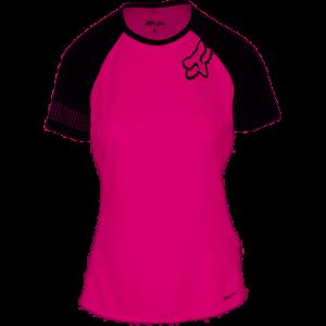 Medium Pink//Blue Fox Racing Ripley SS Women/'s Jersey