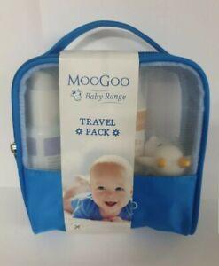 Moogoo-Bebe-Viaje-Paquete-con-burbujas-lavado-MSM-Crema-Panales-blam-ubre-Balsamo-Bano-Juguete