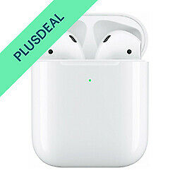 Apple AirPods 2 + Wireless Charging Case White Qi Siri Bluetooth Lautsprecher